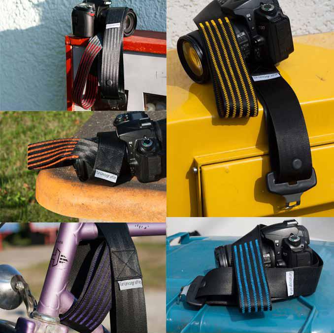 Kameragurte Grünografie
