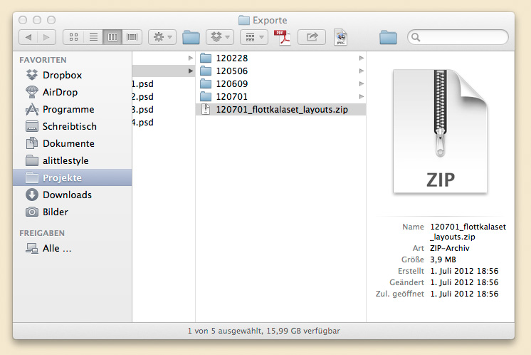 Photoshop-Datei komprimieren