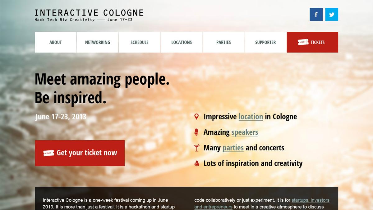 Interactive cologne flyer 1 interactive cologne flyer 2 for Grafikdesign koln